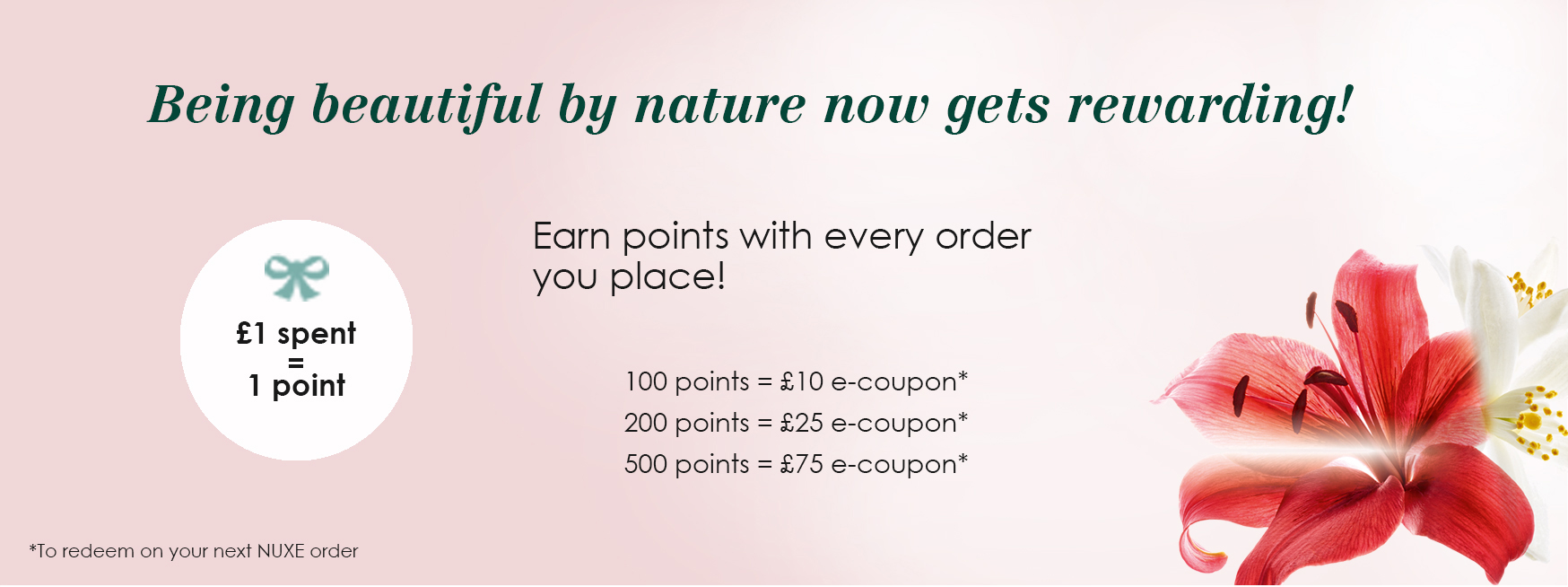NUXE Loyalty Programme