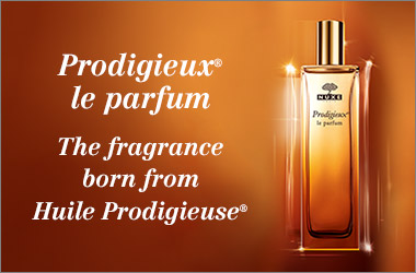 The perfume born from our iconic Huile Prodigieuse
