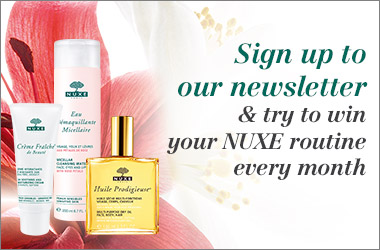 Sign up to our newsletter to win your beauty routine