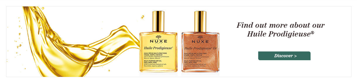 Find out more about our Huile Prodigieuse