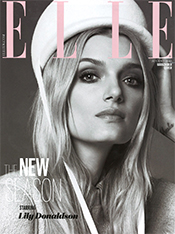 Cover Elle August 2015