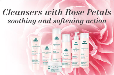 Nuxe Cleansers with Rose Petals range