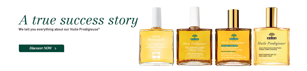 Learn all about the story of our iconic Huile Prodigieuse