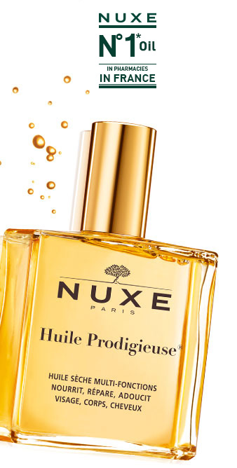 Huile Prodigieuse, #1 oil in pharmacies in France