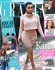 Cover Grazia March 2014