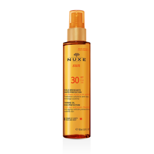 Nuxe Sun Tanning Oil Face & Body SPF 30 - NUXE