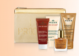 Receive a free 5-piece bonus gift with your $50 NUXE purchase