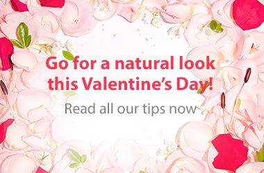 Read our tips for a natural look this Valentine's Day